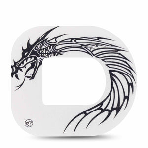 Black and White Dragon Pod Tape