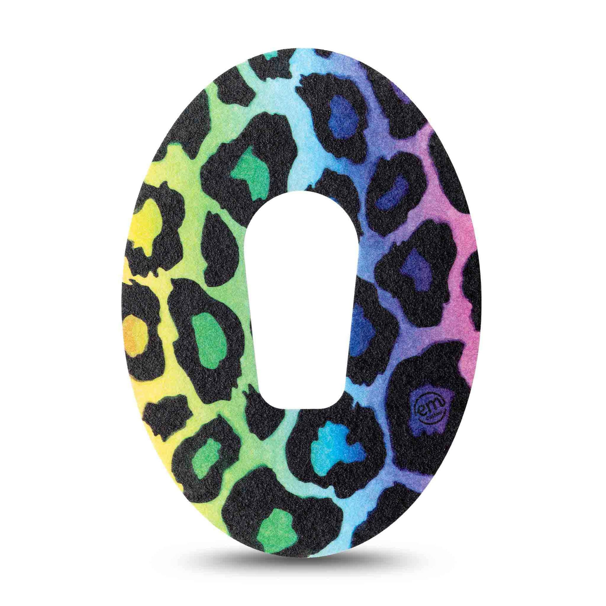 Colorful Chettah Print Dexcom G6 Tape