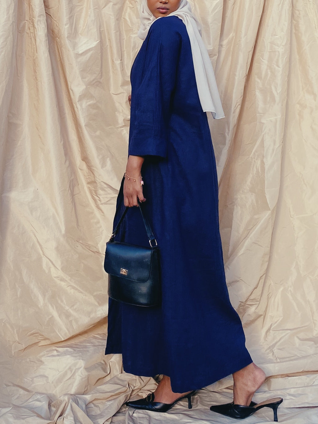 Midnight blue  abaya