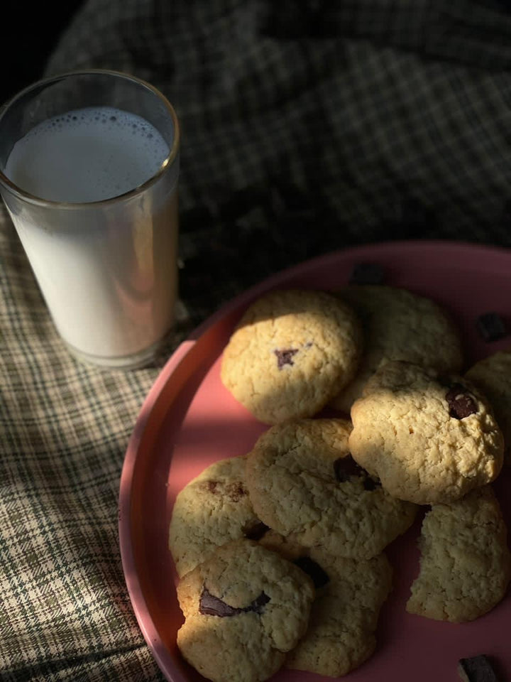 Chocolate Chunk Cookies by Chef Radhika Khandelwal