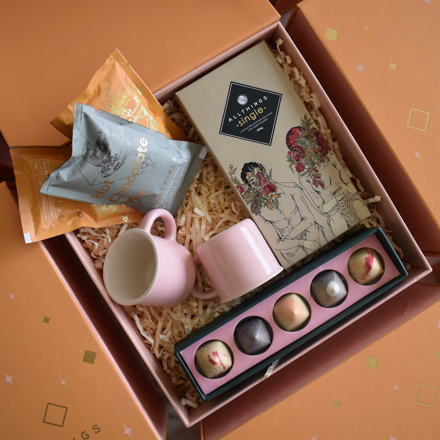 Gift Box Pale Orange