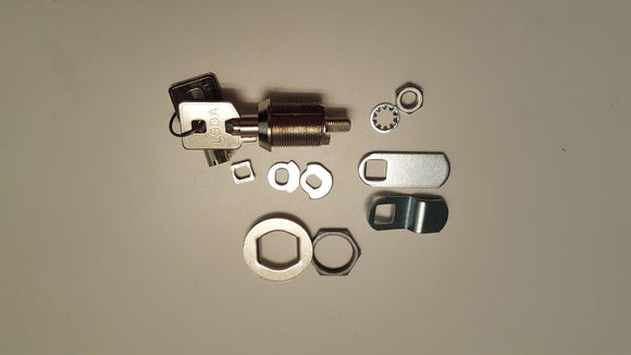 LSDA Cabinet Locks, Cam Lock, Tubular Key - Locksmith.Supply