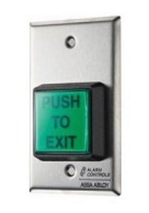 Alarm Controls TS2T Single Gang Illuminated Pushbutton with Timer