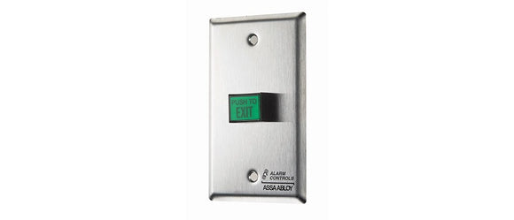 Alarm Controls TS9T Narrow Style Illuminated Pushbutton with Timer