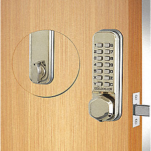 CL210 Tubular Deadbolt by CodeLocks - Locksmith.Supply