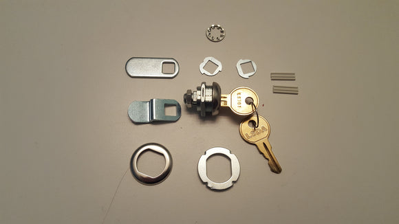 LSDA Cabinet Locks Also Refered to as Disc Tumbler or Cam Locks - Locksmith.Supply