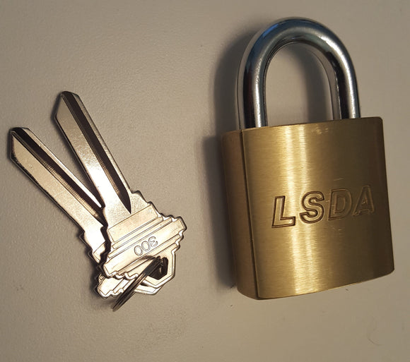 LSDA Commercial Heavy Duty Rekeyable Padlock - Locksmith.Supply