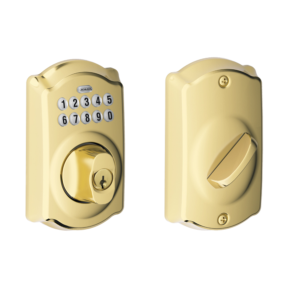 Schlage BE365 Keypad Camelot Deadbolt - Locksmith.Supply