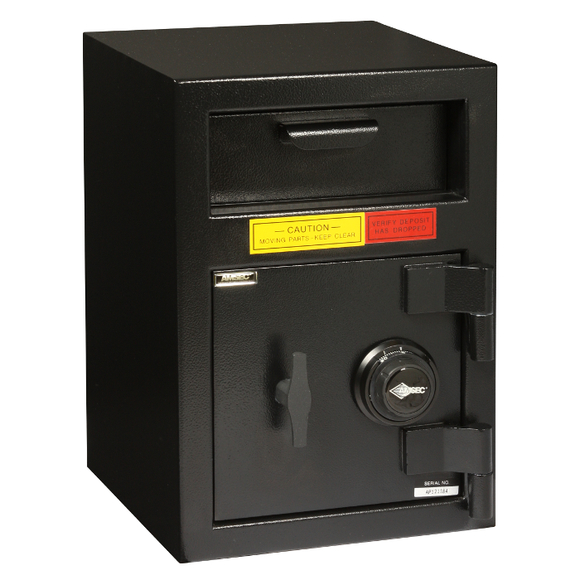 Amsec Compact Single Door Cash Management Safe Combo - Locksmith.Supply