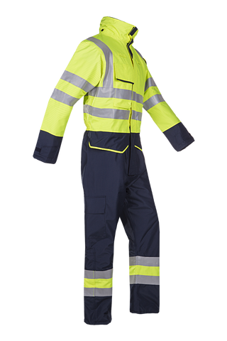 Vlamvertragende winter- en regenoverall