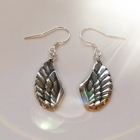 Angel Wing earrings small