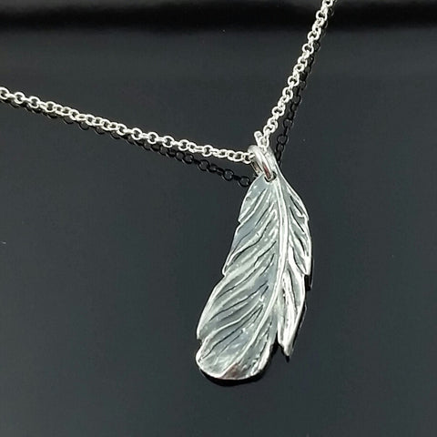 Feather Pendant small