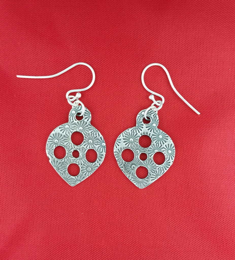 Christmas Earrings daisies