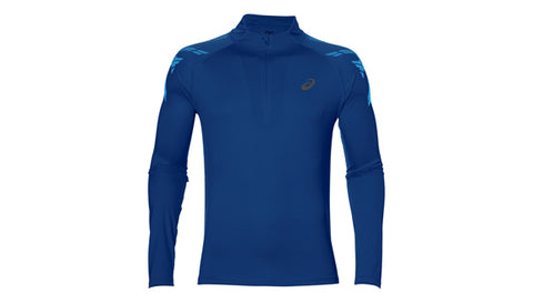 Asics Stripe 1/2 Zip Mens