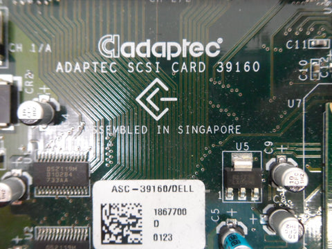 Adaptec 39160 64-bit PCI-to-SCSI adapter