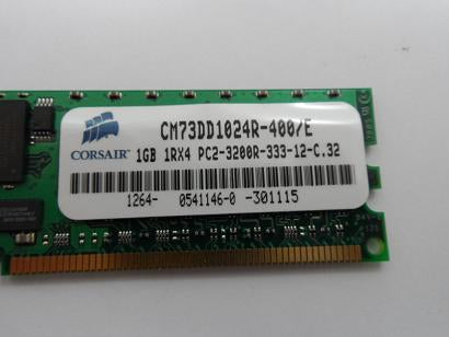 Corsair 1GB 1RX4 PC2-3200R DDR2 SDRAM Memory