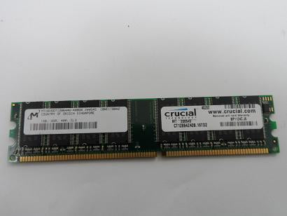 Micron 1GB PC3200 non-ECC Unbuffered CL3 DIMM