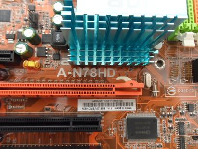 Abit A-N78HD Socket AM2+ DDR2 Motherboard