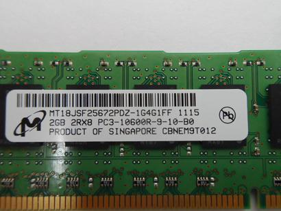 HP/Micron 2GB PC3-10600 DDR3-1333MHz 240PIN DIMM