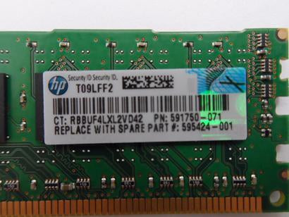 HP/Micron 4GB PC3-10600 DDR3-1333MHz 240-Pin DIMM