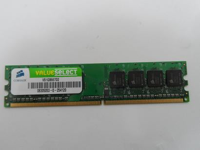 Corsair 1GB PC2-5300 DDR2-667MHZ 240-Pin DIMM