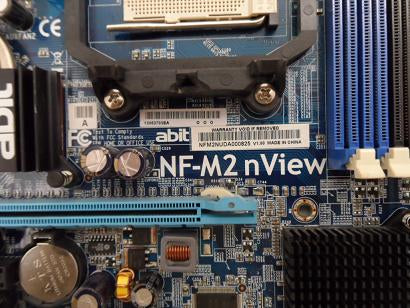 ABIT NF-M2 nView Socket AM2 Motherboard
