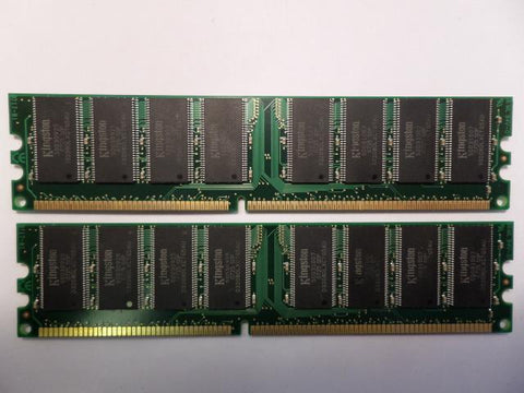 Kingston KIT 1GB (2pcs 512MB) PC3200 CL3 DDR DIMM