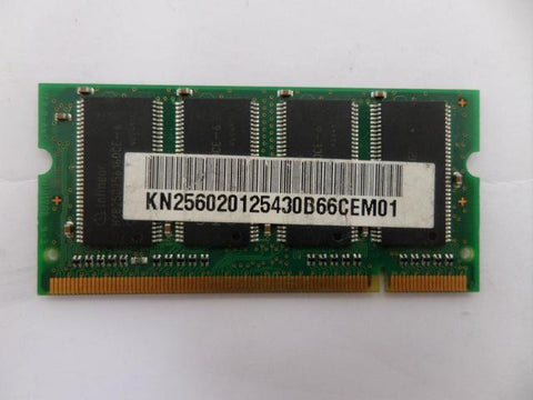 Infineon 256MB PC2700 DDR 333MHz CL2.5 SoDimm