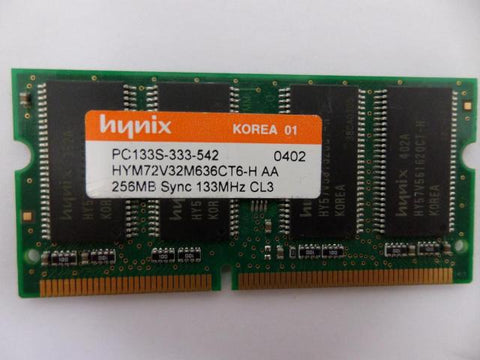 Hynix 256MB PC133 133MHz CL3 144 Pin SoDimm