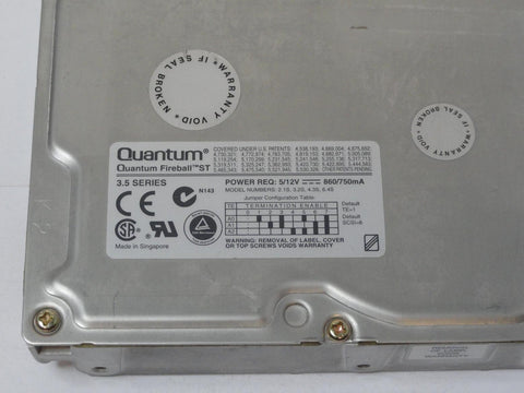 Quantum 2.1Gb SCSI 50 Pin 5400rpm 3.5in HDD