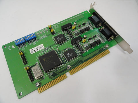 Advantech Dual Port Serial ISA Communication Card ( PCL-745 PCL-745    Advantech Ref )