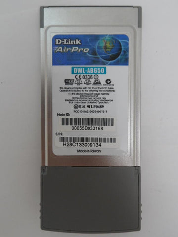 D-Link AirPRo Wireless Network Cardbus Adapter ( DWL-AB650/EU DWL-AB650/EU    D-Link )