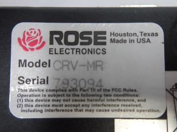 Rose Electronics Crystal View Mini KVM over ( CRV-MR 7050015379435    Rose Electronics )