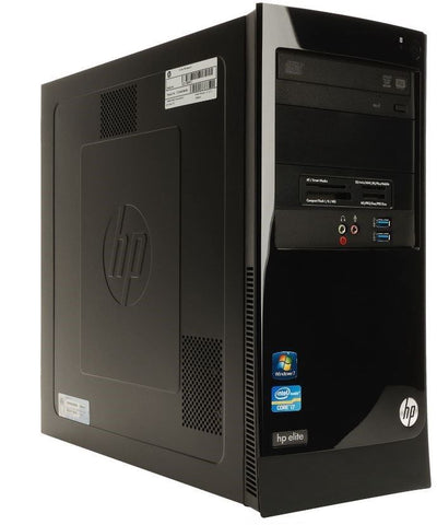 HP Elite 7300 - Core i7 2600 3.4 GHz / 8GB / 1TB HD Windows 7 Pro 64-Bit (XT244EA#ABU  Ref )