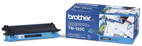 Brother Original TN135C Cyan laser Toner (  BRTN135C    NOB )