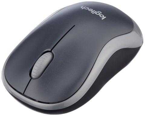 Logitech M185 USB Wireless Optical Mouse Grey(M185 910-002238 NEW)