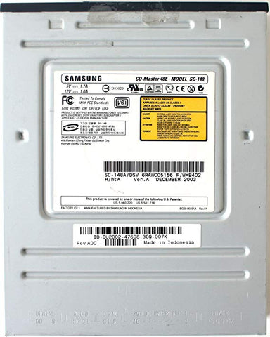 SAMSUNG CD-MASTER MODEL ( SC-148A USED )