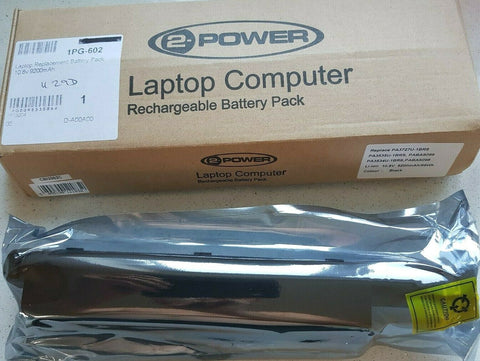 2 POWER Laptop Computer Rechargeable Battery Pack (PA3788U 1BRS NOB)