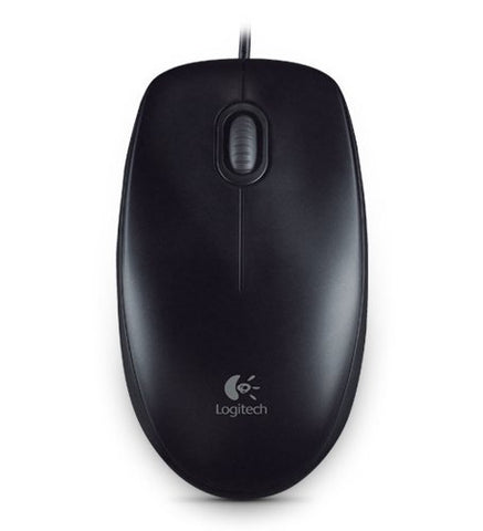 Logitech Full size corded mouse (B100 910 003357 NEW)