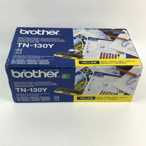 Brother Colour Toner Cartridge  Yellow (TN 130Y NEW)