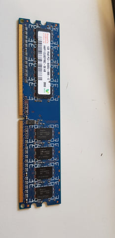 Hynix 1GB 1Rx8 PC2-6400 DDR2-800MHz non-ECC Unbuffered CL6 240-Pin DIMM Memory Module (HMP112U6EFR8C-S6 AB)