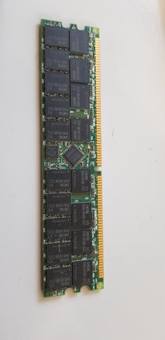 Smart Modular 2GB PC3200 DDR-400MHz Registered ECC CL3 184-Pin DIMM (SG25672RDTR8H2BGSD)