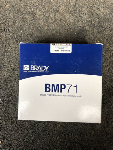 BRADY Black Color Thermal Transfer Printer Ribbon (BMP71 / M71 R6200 NOB)