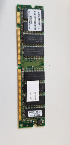 Kingston Value 128MB PC133 133MHz nonECC Unbuffered CL3 168-Pin DIMM Memory Module (KVR133X64C3/128)