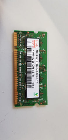 Hynix 1GB 2Rx16 PC2-6400 DDR2 800MHZ nonECC Unbuffered CL6 200P SODIMM Memory Module (HYMP112S64CR6-S6 AB)