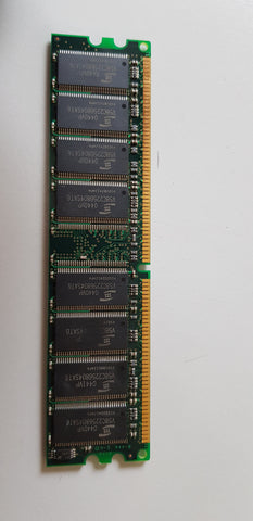 ProMOS 512MB PC2700 DDR-333MHz non-ECC Unbuffered CL2.5 184-Pin DIMM IBM Labelled Memory Module (V826664K24SATG-C0)