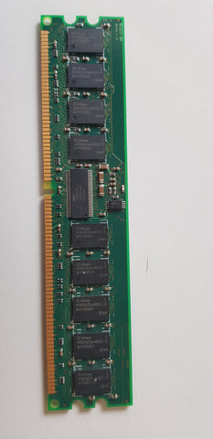 Infineon 512MB PC3200 DDR-400MHz ECC Registered CL3 184-Pin DIMM Memory Module  ( HYS72D64300GBR-5-C)