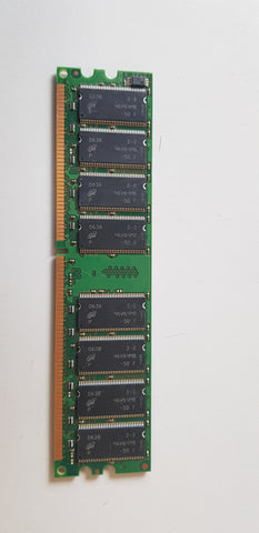 Micron Crucial 1GB PC2700 DDR-333MHz non-ECC Unbuffered CL2.5 184-Pin DIMM Dual Rank Memory Module(MT16VDDT12864AY-335F2 / CT12864Z335.16TFY)