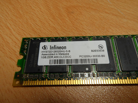1GB DDR400/PC3200 ESS DIMM unbuffered