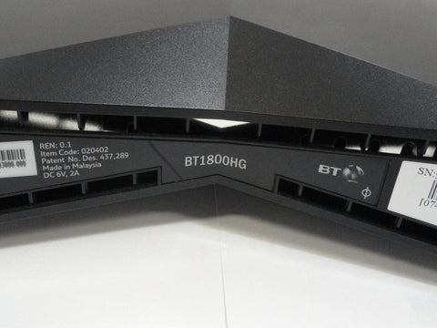 BT 2 Wire 4 Port  Router No PS